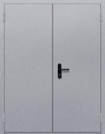 Противопожарная дверь Двупольная глухая