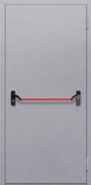 Противопожарная дверь Однопольная с антипаникой
