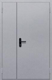 Противопожарная дверь Полуторная глухая