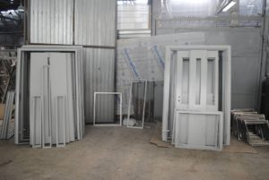 Производство противопожарных дверей 2