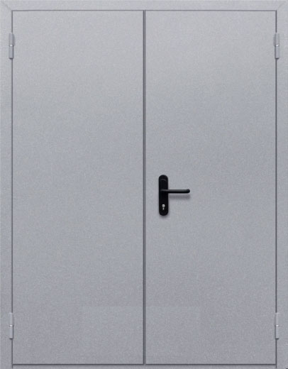 Противопожарная двупольная глухая дверь ДПМ 02 EI60