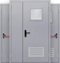 Полуторные двери
